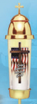 Cemetery Remembrance Candle Holder Patriotic