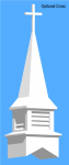 Fiberglass Church Steeple Height 10 Foot