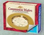 "Communion Bread Wafers 1-1/8"" Round Unleavened"