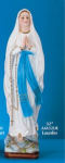 "Our Lady of Lourdes Chalk 32"" Statue"