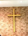 Backlit Wall Cross GOLD
