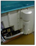Baptistry Water Filter and Skimmer