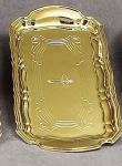 Gold Cruet Tray  With Engraving