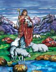Baptistry Mural-Good Shepherd