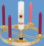 Advent Wreath Top Section Only