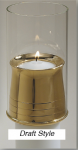 Draft Style Candle Burner