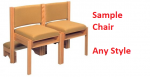 SAMPLE Church Or Chapel Chair