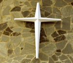 Sunburst Fiberglass Wall Cross