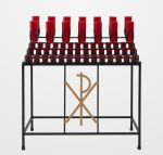 Chi Rho Votive Candle Stand