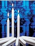 #32 Congregational Handheld Candles - 4-1/2""