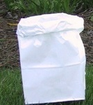 #6 Standard White Paper Luminaria Candles Bag