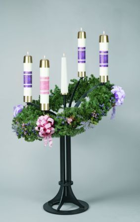 Advent Wreath Candle Stand Item Zz3925 Southeast Church