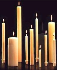 Cathedral Brand 51% Beeswax Altar Candles| Southeast ...