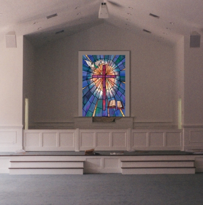 Baptistry Mural Images And Scenes Churchproducts Com