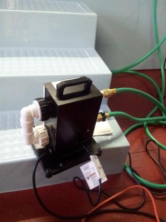 Portable Baptistry Heater With Pump Item Fsi Pxx