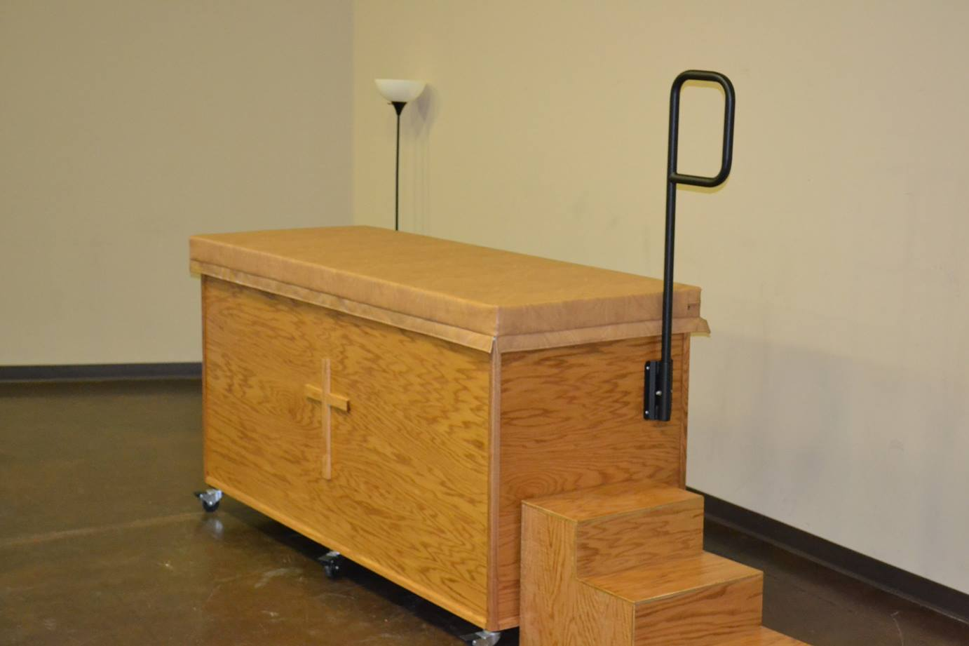 Portable Baptism Pool With Cabinet