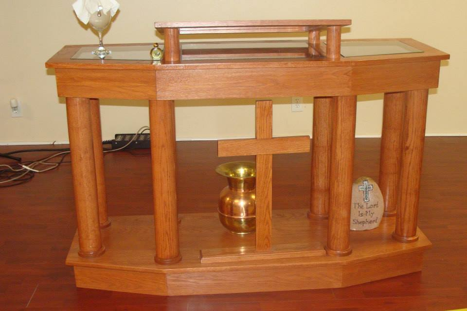 Old Fashioned Pulpits