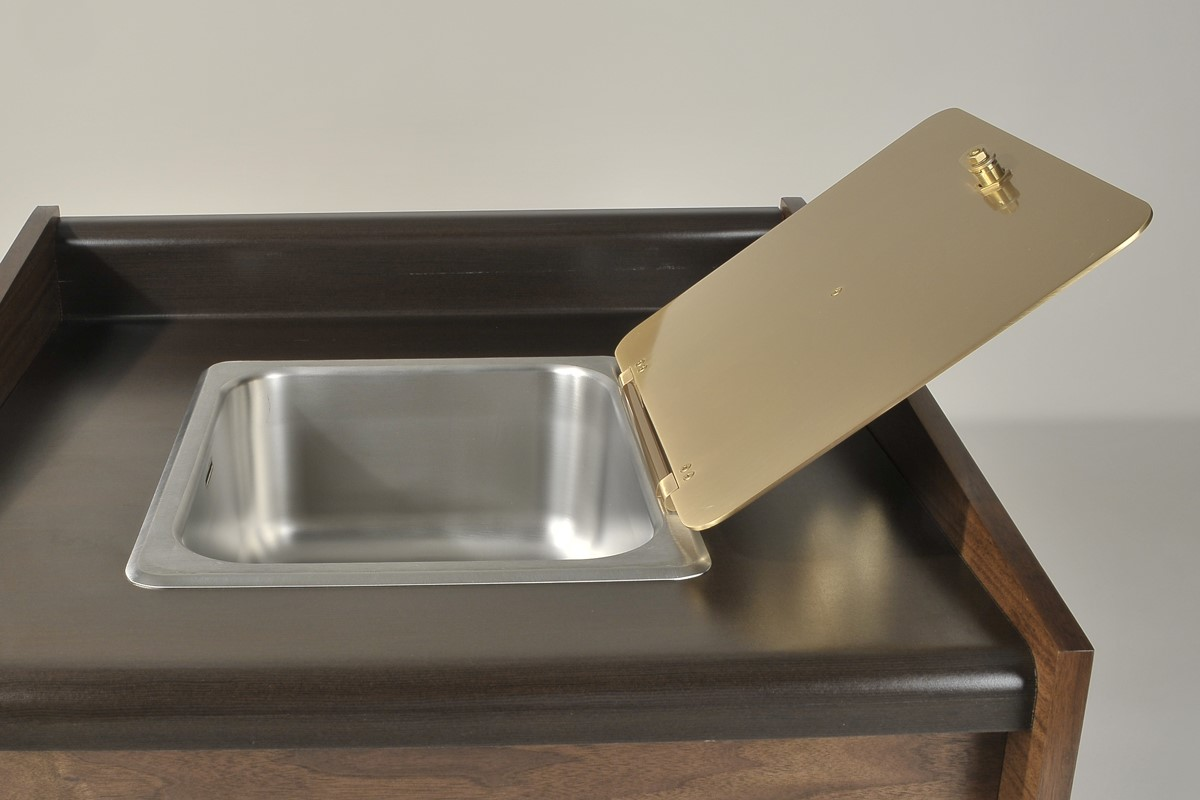 Counter Top Sacrarium Sink Single Or Double Basin