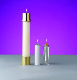 Liquid oil candles church for Oil filled candlesticks
