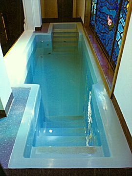 How To Install A Church Baptistry Churchproducts Com